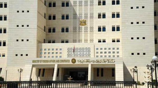 محکومیت حملات تروریستی اخیر به حومه دیرالزور و حماة از سوی دمشق