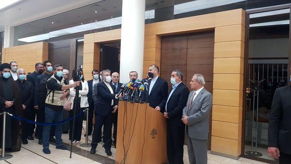 پیام امیرعبداللهیان به مردم لبنان/ هرگز از کمک به لبنان دریغ نمیکنیم