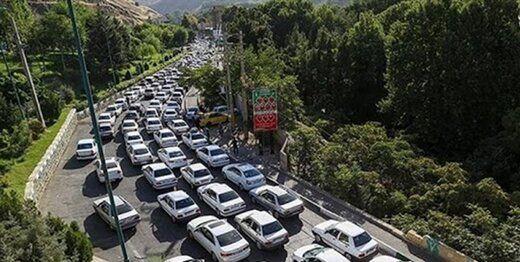جاده فیروزکوه بازگشایی شد