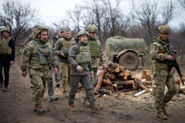 اوکراین نسبت به آرایش نظامی روسیه در منطقه دونباس شرقی هشدار داد