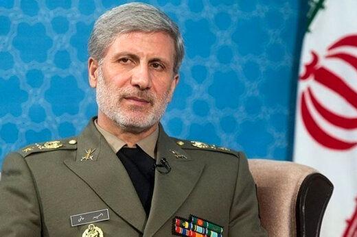 پیام امیر حاتمی به وزرای دفاع کشورهای اسلامی