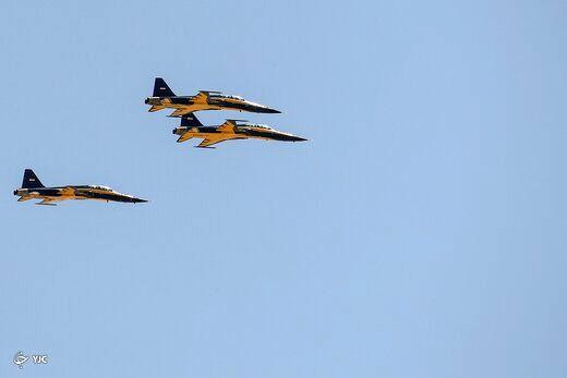 جنگندهای که برای ایران  ۷/۵ میلیون دلار صرفهجویی ارزی ایجاد کرد+عکس