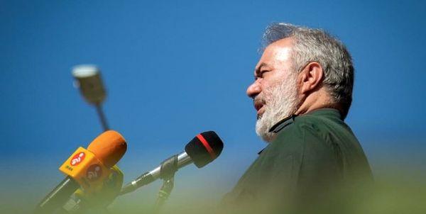 واکنش سردار فدوی به اظهارات رئیس ستاد کل ارتش اسرائیل