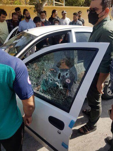 زن جوان شوهرش را در خیابان تیرباران کرد!