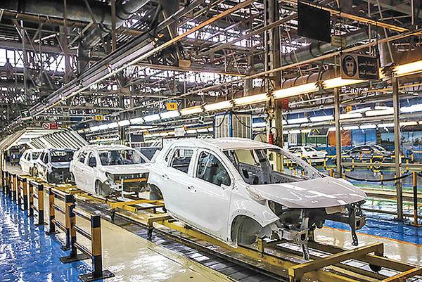 ثبات نسبی تولید خودرو