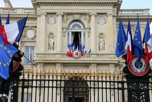 احضار سفیر روسیه از سوی فرانسه