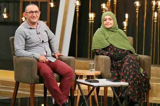 هئایت هاشمی و همسرش