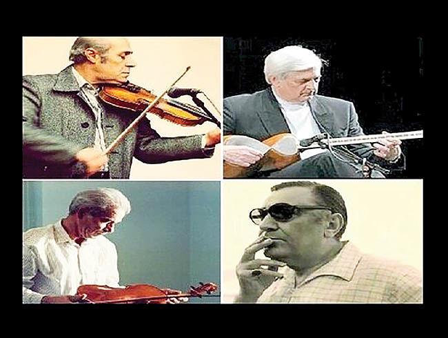 نصب سردیس ۴ استاد موسیقی در تهران