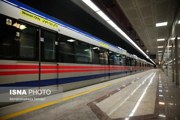 مسافرگیری از ایستگاه متروی بسیج انجام نمیشود