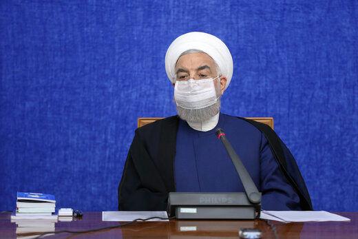 روحانی: صیانت از جان و رای مردم وظیفه دولت به عنوان مجری انتخابات است