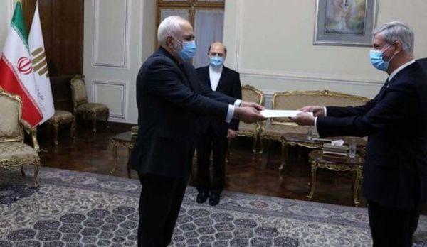 دیدار سفیر جدید برزیل با ظریف