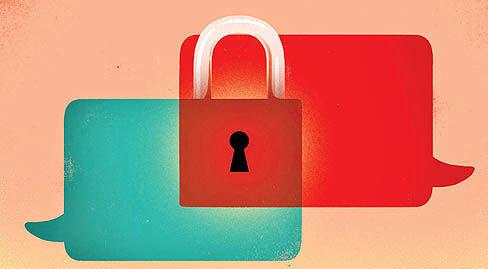 تعبیر اینترنت خصوصی با سرویسهای پیامرسان