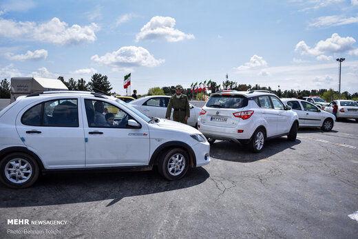 ترافیک سنگین در محورهای منتهی به پایتخت