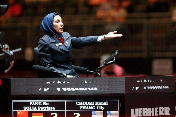اولین داور زن ایران در تاریخ المپیک