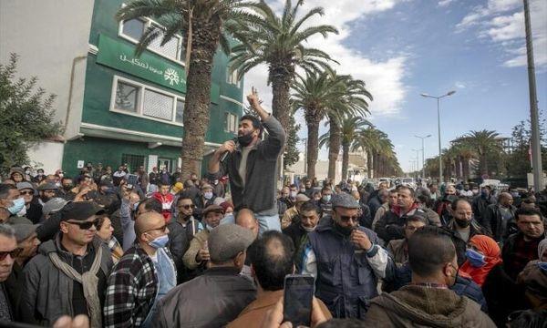 تظاهرات صدها تونسی علیه وضع بد بهداشتی این کشور