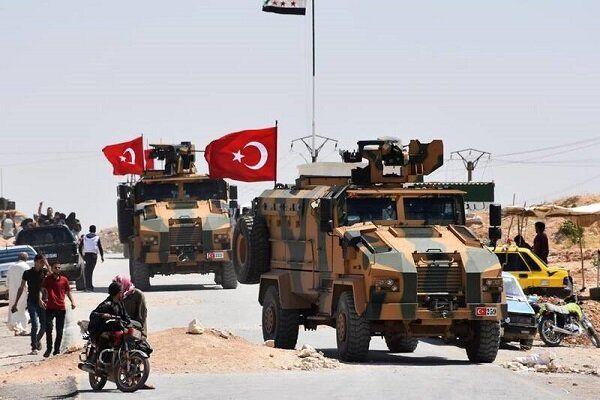 کاروان نظامی ترکیه وارد خاک سوریه شد