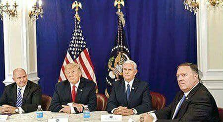 کابینه ترامپ در تدارک برکناری او از قدرت
