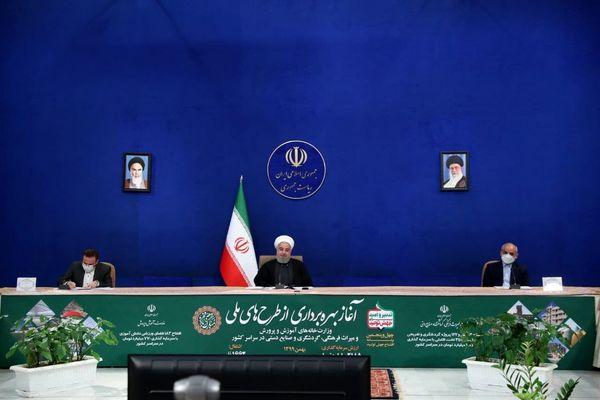 روحانی: واکسیناسیون را از پایان بهمن آغاز میکنیم