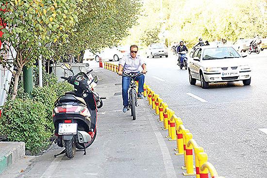 دستانداز تهران برای دوچرخهها