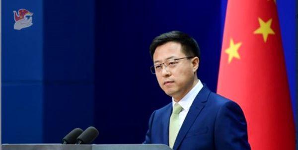 پکن: آمریکا فوراً دخالت در امور چین را متوقف کند