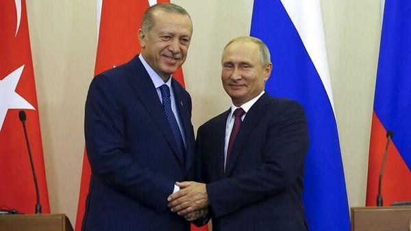 پوتین و اردوغان درباره افغانستان مذاکره میکنند