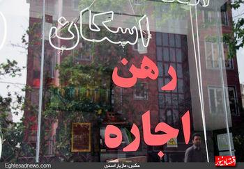 نرخ نجومی اجاره بهای مسکن در مناطق مختلف تهران