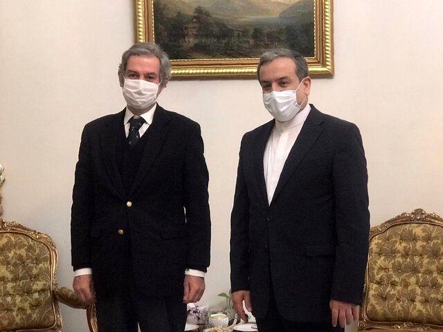 رایزنی سفیر پرتغال با عراقچی