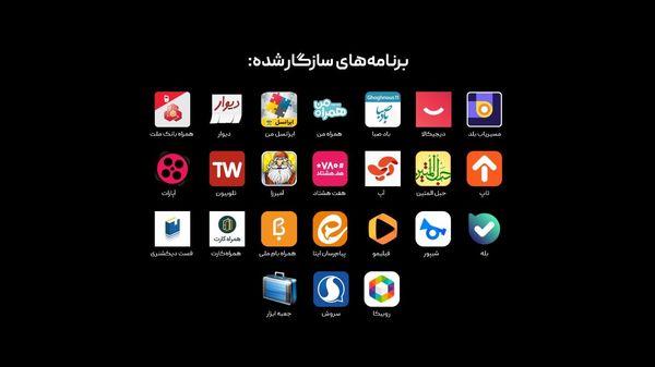 رشد پرسرعت سازگاری اپهای مهم ایرانی با سرویسهای موبایلی هوآوی