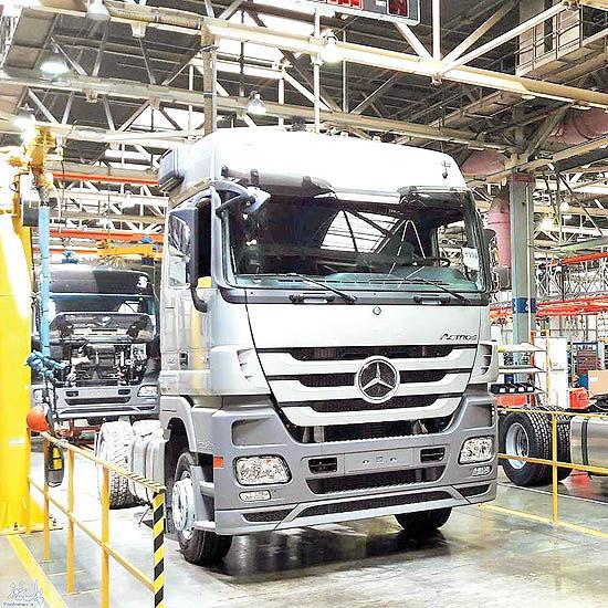 تولید خودروهای تجاری، کمتر از ظرفیت