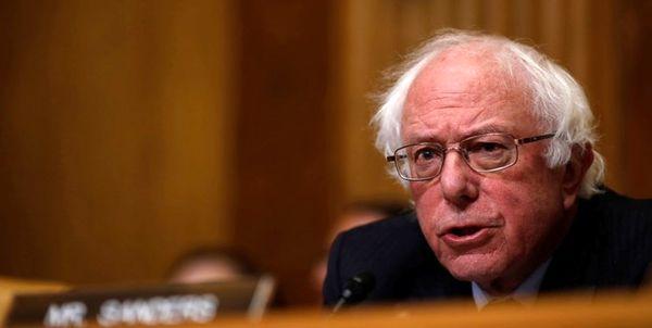 سندرز: ترامپ و تیمش در صدد تضعیف دموکراسی آمریکا هستند