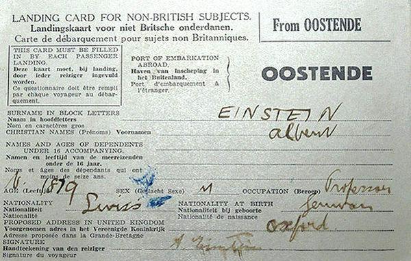 فرار انیشتین از آلمان نازی