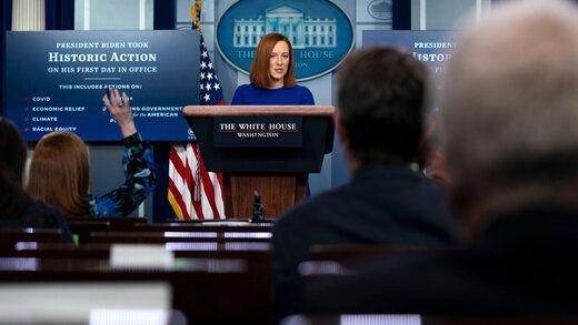 واکنش کاخ سفید به غنی سازی 60 درصد ایران
