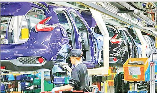 افت سنگین تولید خودرو در انگلیس