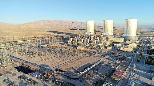 توسعه نیروگاه جهرم در 1400