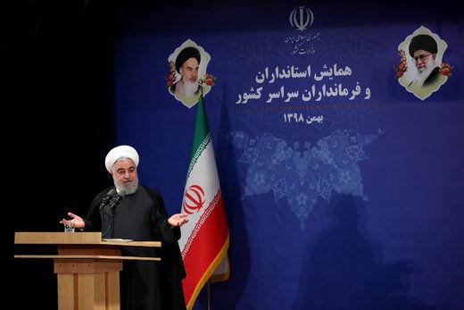 روحانی: نگرانم روزی کلمه «جمهوری»جرم شود/ اتفاقات ۹۶ ترامپ را پررو کرد/ نگذاریم مشارکت در انتخابات حداقلی شود/ با صندوق رأی قهر نکنیم