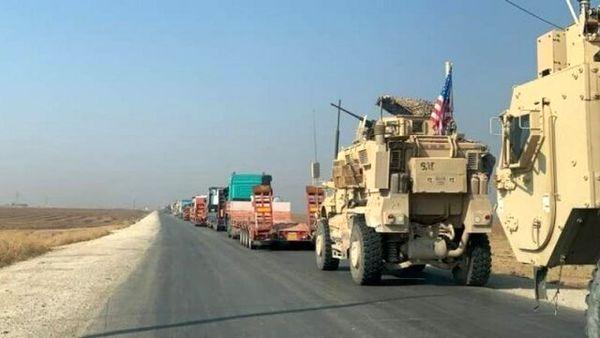 ورود کاروان نظامی جدید آمریکا به شرق سوریه