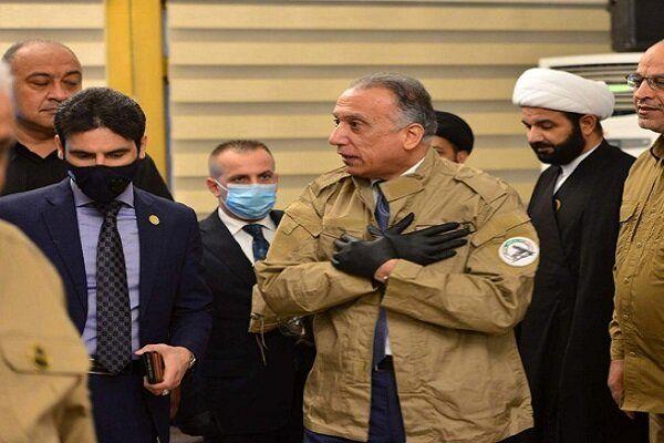 مصطفی الکاظمی یونیفرم حشد شعبی را بر تن کرد