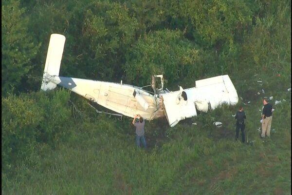 سقوط هواپیما در تگزاس آمریکا