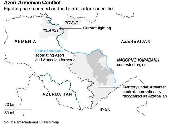 آذربایجان: یک قدم از مناطق تحت اشغال ارمنستان عقب نمی رویم