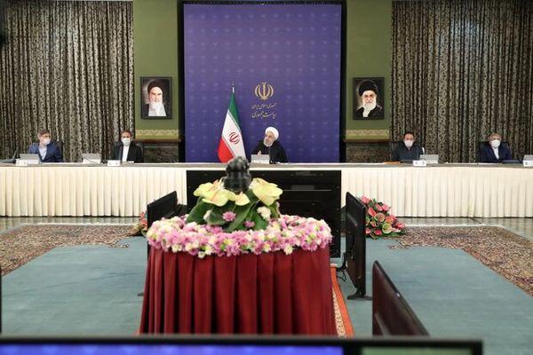 روحانی: دولت آماده همکاری با مجلس برای پیشرفت و آبادانی کشور است