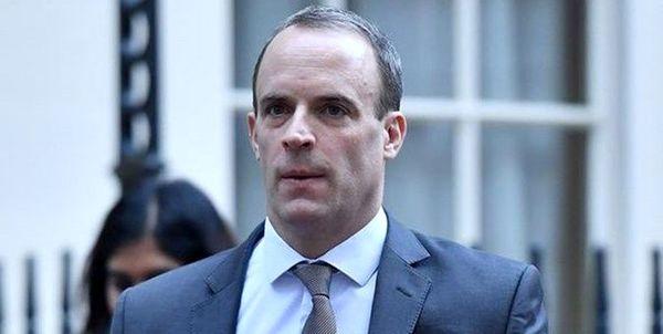 وزیرخارجه انگلیس قرنطینه شد
