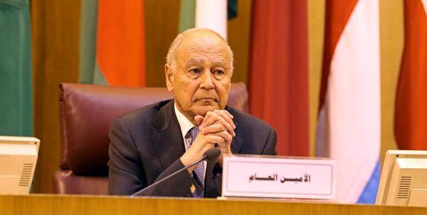 اظهارات دبیر کل اتحادیه عرب علیه ایران و ترکیه