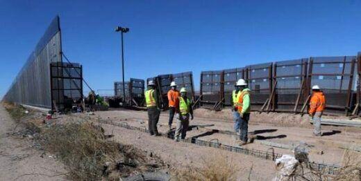 بایدن ساخت دیوار مرزی مکزیک را متوقف می کند