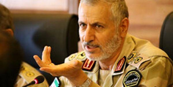 فرمانده مرزبانی ناجا: امنیت در مرزهای کشور پایدار است