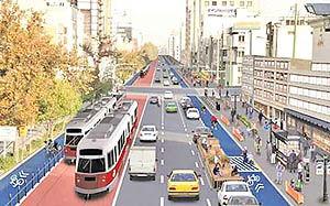 آغاز طرح خیابان هوشمند  در معابر منطقه سه تهران