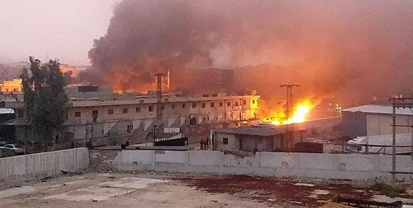 شنیده شدن صدای انفجار در عفرین سوریه
