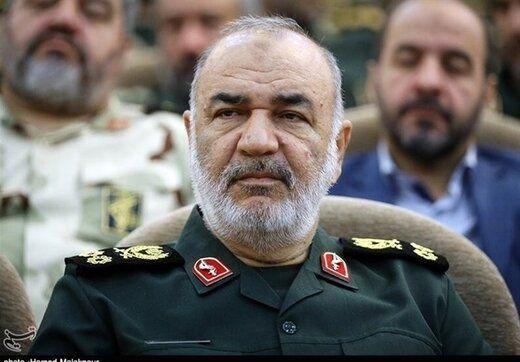 سردار سلامی: دشمنان ملت ما در سراشیبی سقوط هستند