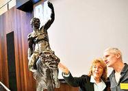 کشف مجسمههای برنزی به جا مانده از میکلآنژ