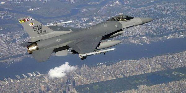 رهگیری هواپیمایی نظامی بر فراز ساختمان سازمان ملل از سوی اف-16 آمریکا