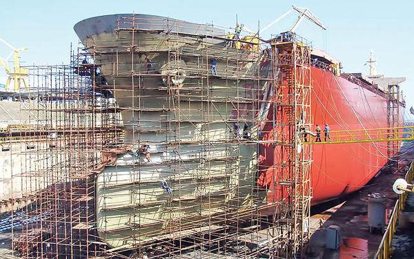 سفارش بزرگ شرکت کشتیسازی کرهای